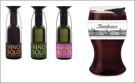 Single serve wine