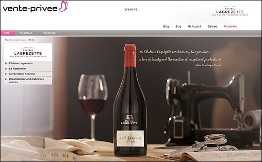 vente uk site launches wine sector. Black Bedroom Furniture Sets. Home Design Ideas