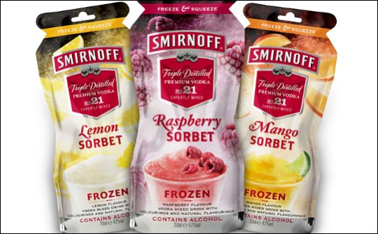 Sminoff Ice Forzen