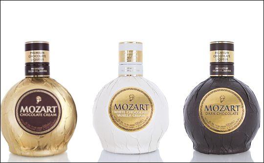 Mozart Rose Gold Chocolate Cream Liqueur