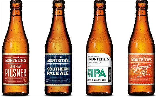 monteith nz craft beers debut in uk