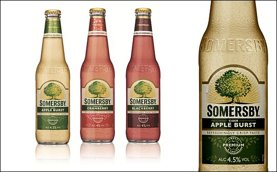 Carlsberg adds three flavours to cider brand