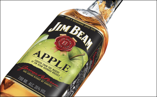Jim Beam Refreshed With New Apple Flavour