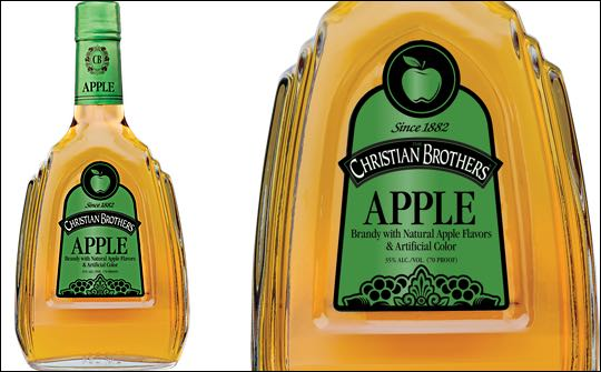 Christian Brothers Apple brandy launched