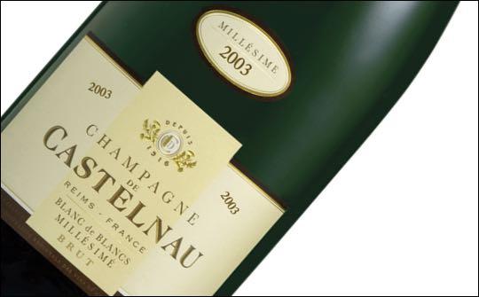 champagne de vallois vintage 2003