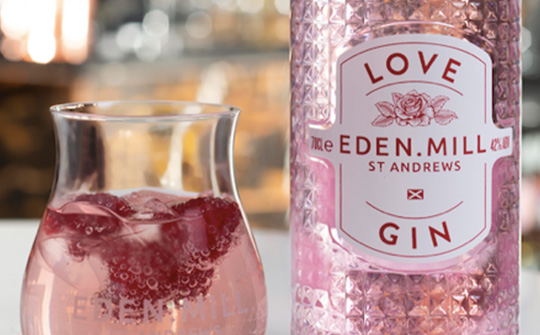 Eden Mill donating to The Drinks Trust from Love Gin sales 1