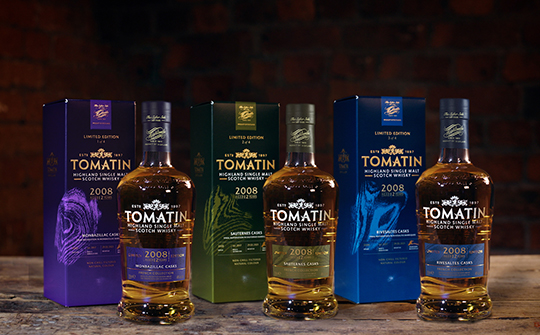 Tomatin unveils new French Collection