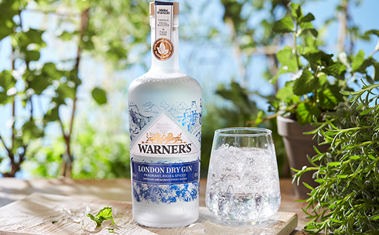 Warner's Gin launches £1m marketing campaign