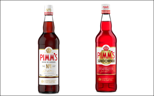 Pimm's announces new-look bottle and new release